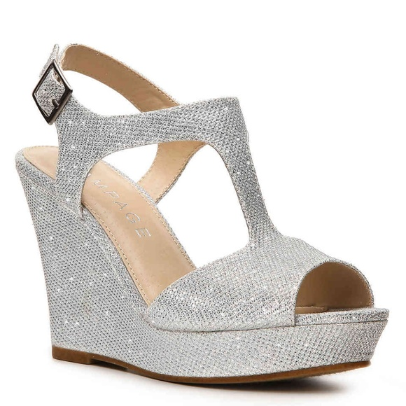 Rampage Silver Wedges